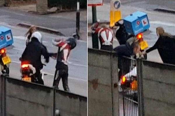 Επιχείρησε να ληστέψει μια γυναίκα στην μέση του δρόμου! Ακολούθησε όμως ο εφιάλτης του (video)