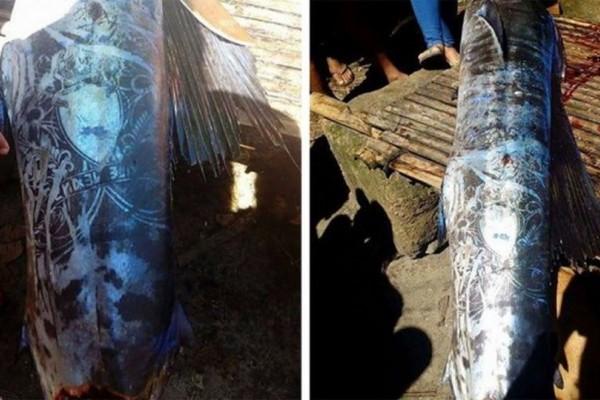 Το ψάρι με το τατουάζ! Ο ξιφίας που έχει ξετρελάνει το διαδίκτυο (photos)