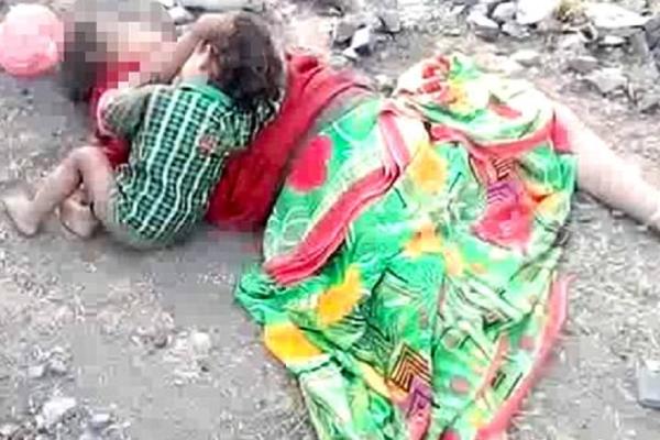 Συγκλονιστικό βίντεο: Μωρό θηλάζει από την νεκρή μητέρα του!