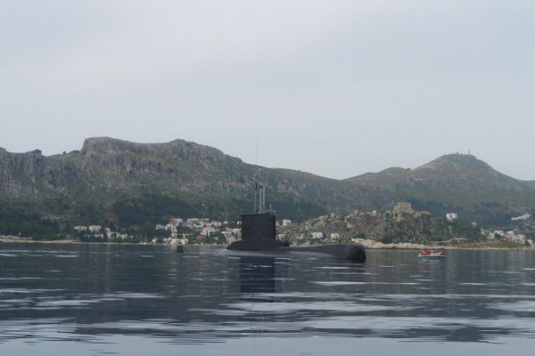 Εκπληκτικές εικόνες: Το υποβρύχιο