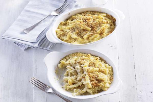 Η συνταγή της ημέρας: Μακαρόνια ογκρατέν με 4 τυριά!