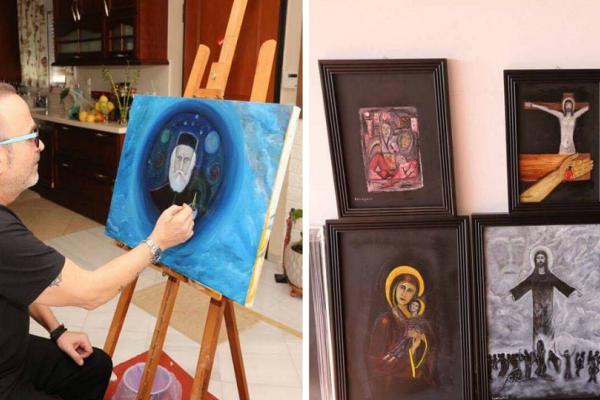 Μεγαλείο ψυχής από τον Σταμάτη Γονίδη: Διοργανώνει έκθεση ζωγραφικής για να ενισχυθεί ίδρυμα για αυτιστικά άτομα!