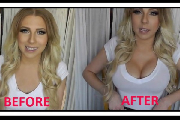 Με αυτό το κόλπο θα κάνεις το στήθος σου να φαίνεται μεγαλύτερο! (video)