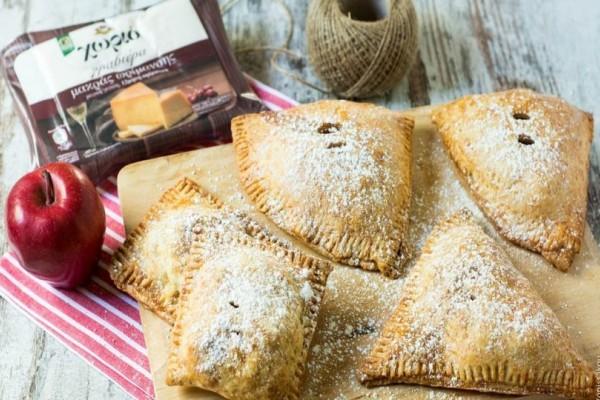 Θα ξετρελαθείτε: Ατομικά μηλοπιτάκια με ζύμη γραβιέρας!