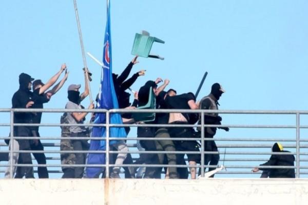 Φωτογραφία - ντοκουμέντο: Η σοκαριστική εικόνα από τα αιματηρά επεισόδια του Βόλου που προκαλεί τρόμο! (Photo)