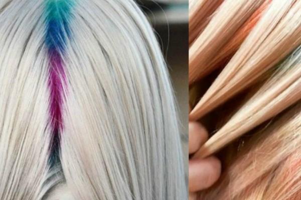 Ουράνιο τόξο στις ρίζες των μαλλιών! Αυτή είναι η τάση στα μαλλιά για το καλοκαίρι 2017! Θα το τολμήσεις;