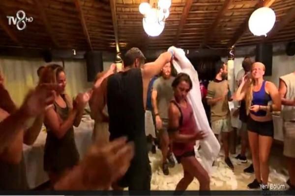 Survivor - Βίντεο ντοκουμέντο: Το καυτό τσιφτετέλι του Βασάλου με την Τουρκάλα που τον χαστούκισε! (Video)