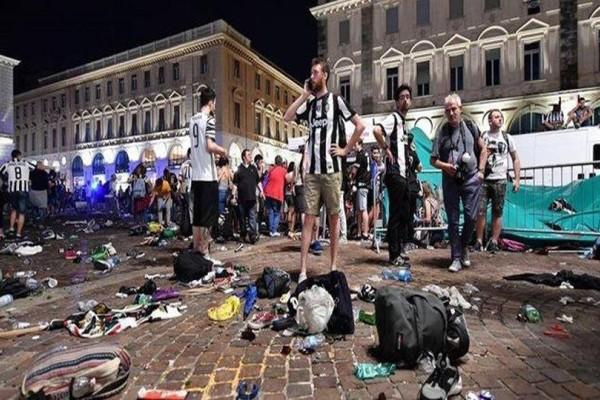Σοκ στο Τορίνο: Τουλάχιστον 1.400 τραυματίες οπαδοί της Γιουβέντους στο ποδοπάτημα
