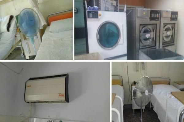 Τραγικές εικόνες στα ελληνικά νοσοκομεία: Χωρίς κλιματισμό μέσα στον καύσωνα! Με ανεμιστήρα εκατοντάδες άρρωστοι - Απανωτές λιποθυμίες (photos)