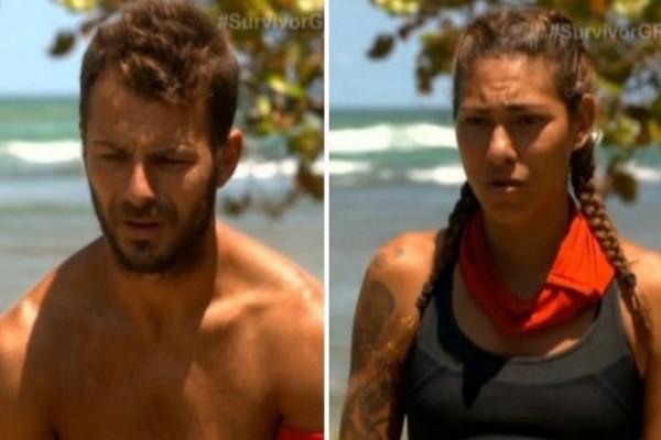 Survivor: «Αρπάχτηκαν» Αγγελόπουλος – Βαλαβάνη! Το παράπονο και το… ερωτικό υπονοούμενο που ενόχλησε τον Ντάνο! (Video)