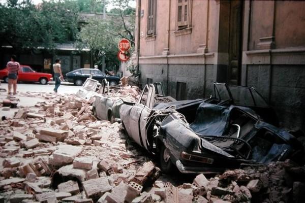 Σαν σήμερα - 20 Ιουνίου του 1978: 6,5 Ρίχτερ χτυπούν την Θεσσαλονίκη και αφήνουν πίσω τους δεκάδες νεκρούς! (photos+video)