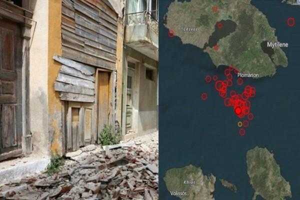 Νύχτα θρίλερ στο Βόρειο Αιγαίο με απανωτές σεισμικές δονήσεις! Τι λένε οι σεισμολόγοι;
