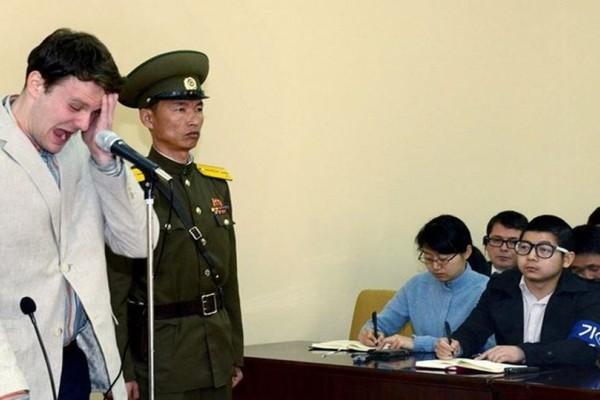 Πέθανε ο 22χρονος Αμερικάνος φοιτητήες που ήταν όμηρος επί 17 μήνες στην Βόρεια Κορέα!