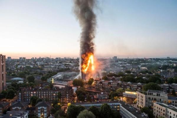 Ίσως και πάνω από 100 οι νεκροί στον Πύργο της κολάσεως στο Λονδίνο! Πετάγανε τα παιδιά από τα παράθυρα... (videos+photos)