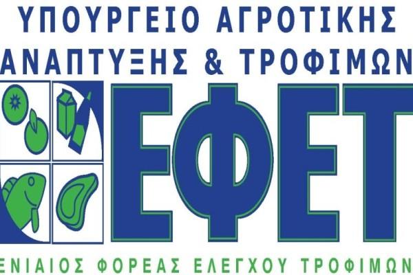Έκτακτη ανακοίνωση από τον ΕΦΕΤ: Ποιο τρόφιμο ανακαλεί;