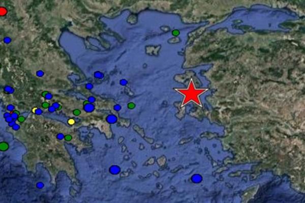 Πολύ ισχυρός σεισμός 6,2 Ρίχτερ με επίκεντρο την Λέσβο!
