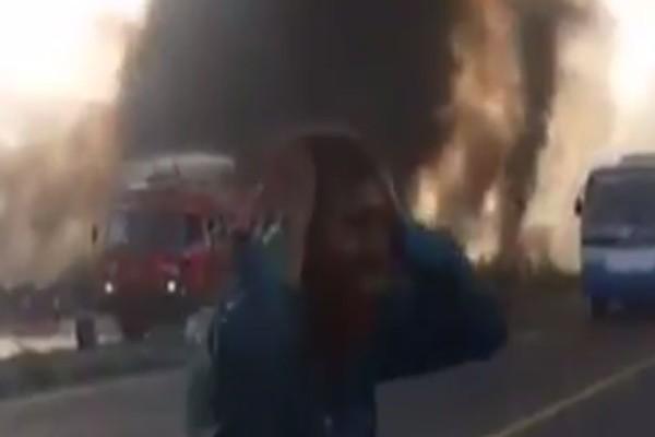 Ανείπωτη τραγωδία στο Πακιστάν: Περισσότεροι από 120 νεκροί έπειτα από φωτιά σε βυτιοφόρο! (video)