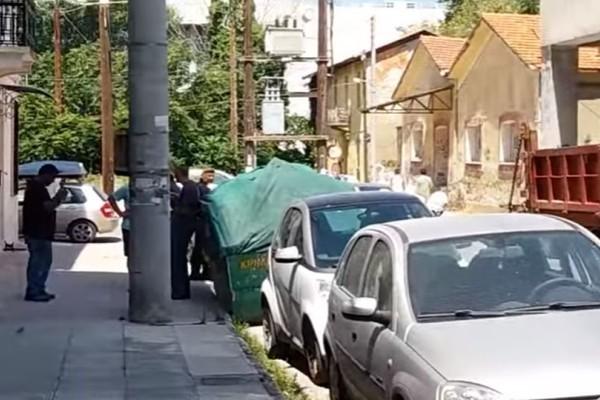 Σοκ στην Πάτρα: Έπεσε στο κενό ο πρώην αρχηγός της Πυροσβεστικής! (video)