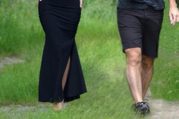 Ποια διάσημη πήγε για τρέξιμο φορώντας φόρεμα και... τακούνια; (Photos)