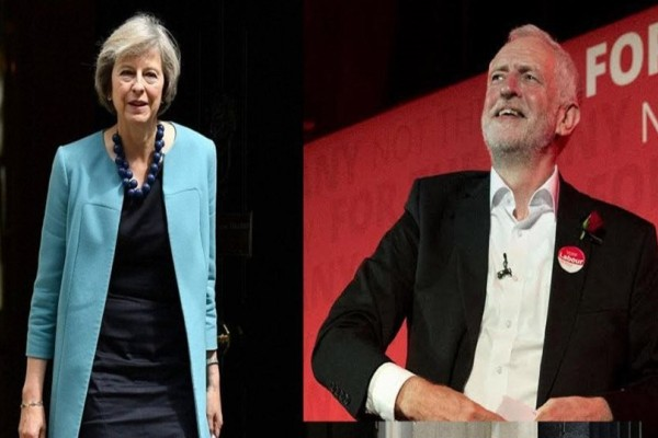 Βρετανικές εκλογές: Νίκη της Μέι με 314 έδρες, αλλά χωρίς αυτοδυναμία, δείχνει το exit poll