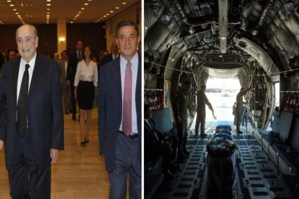 Μανούσος Γρυλλάκης: Ο πιστός αστυνομικός του Κωνσταντίνου Μητσοτάκη που δεν τον άφησε μόνο του ούτε στο C-130! (photo)