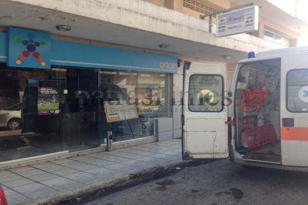Πάτρα: Ληστεία σε πρακτορείο ΟΠΑΠ με απειλή μαχαιριού-Στο νοσοκομείο το θύμα! (Photos & Video)