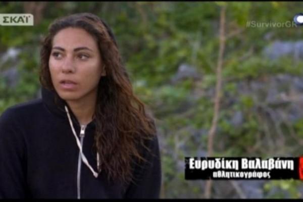 Survivor: Φανερά στεναχωρημένη η Ευρυδίκη μετά την αποχώρηση του Κοκκινάκη! Τι είπε on camera;  (Video)