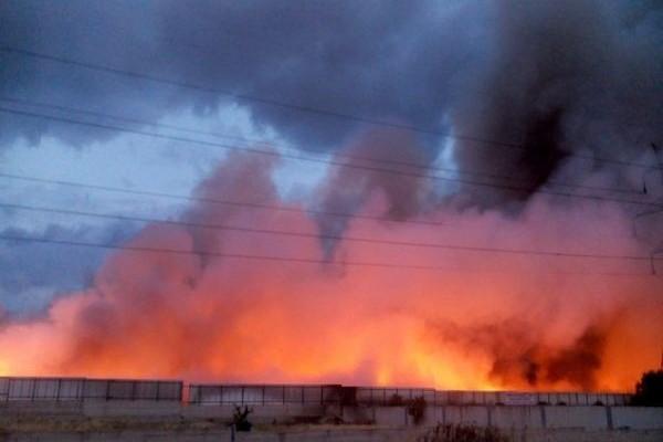 Συναγερμός στην Πυροσβεστική: Φωτιά σε παλιό εμφιαλωτήριο στο Ηράκλειο!