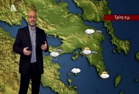 Να είστε έτοιμοι: Η προειδοποίηση του Σάκη Αρναούτογλου για τη ζέστη που έρχεται στη χώρα! (Video)