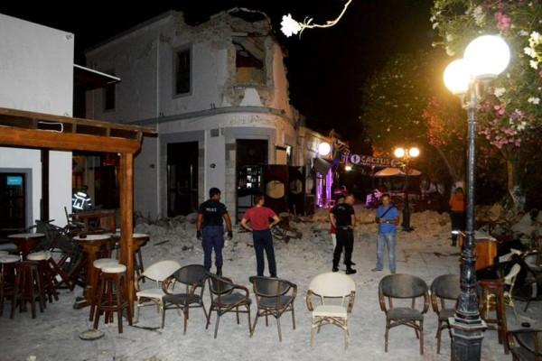 Σεισμός στην Κω: Το μπαρ του θανάτου: Δύο νεκροί, ένας ακρωτηριασμένος και σοβαρά τραυματίες!