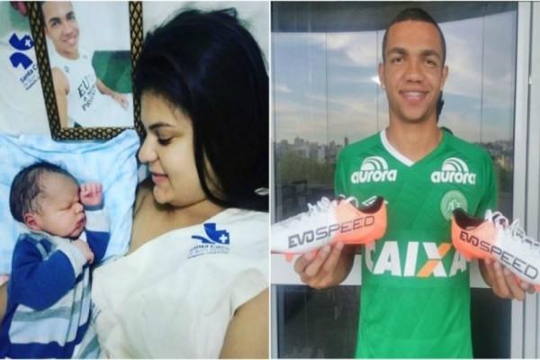 Σπαρακτικό: Γεννήθηκε ο γιος παίκτη που σκοτώθηκε στην αεροπορική τραγωδία της Σαπεκοένσε! (photos+video)