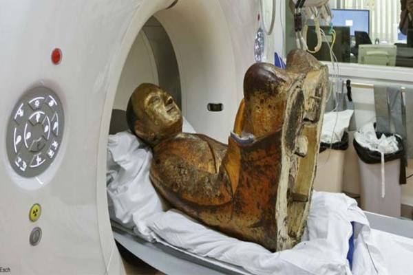 Έκαναν αξονική τομογραφία σε αρχαίο άγαλμα του Βούδα! Αυτό που ανακάλυψαν τους σόκαρε! (video)