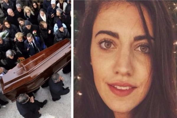Τροχαίο Κύμη: Σπάραξαν καρδιές στην κηδεία της 26χρονης Κατερίνας! Τραγικές φιγούρες οι γονείς της