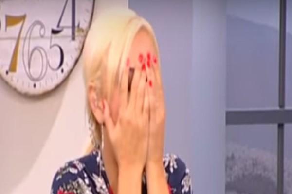 Έπαθε σοκ η Χριστίνα Λαμπίρη! - Η απίστευτη εισβολή στο πλατό της παρουσιάστριας! (Video)