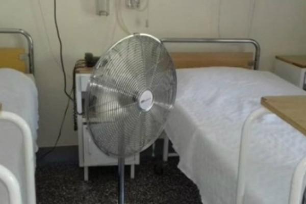 «Λιώνουν» οι ασθενείς στο Θριάσιο! Δεν υπάρχει κλιματισμός