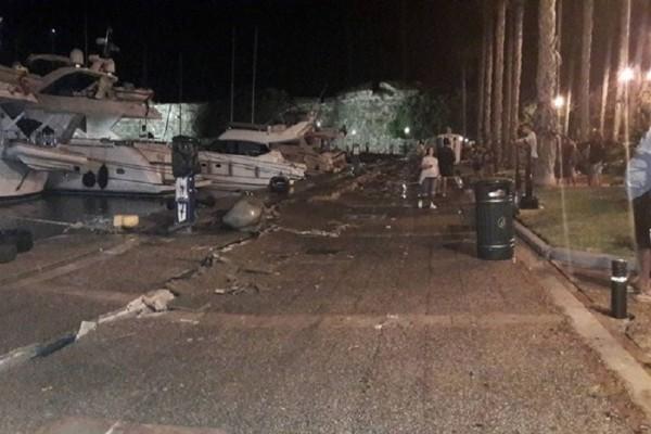 Σοβαροί κίνδυνοι για το λιμάνι της Κω - Δύτες θα πρέπει να κάνουν εκτίμηση της ζημιάς που προκάλεσε ο σεισμός!