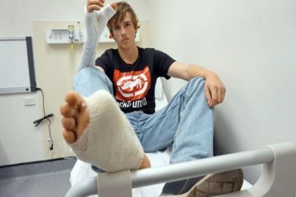 Απίστευτο: Έχασε τον αντίχειρά του και του έβαλαν στην θέση του το μεγάλο δάχτυλο του ποδιού του! (photo)