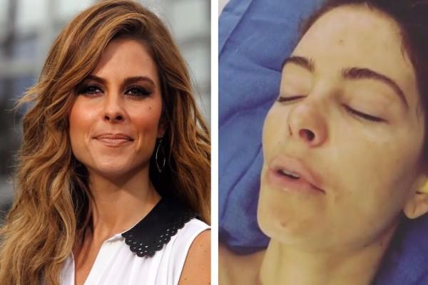 Η σοκαριστική εικόνα της Μαρίας Μενούνος στο κρεβάτι του χειρουργείου μετά από επέμβαση 7,5 ωρών! Το συγκλονιστικό της μήνυμα (video)