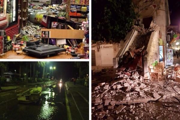 Φονικός σεισμός στην Κώ: 6,7 Ρίχτερ ταρακούνησαν τα Δωδεκάνησα - Δύο νεκροί, μίνι τσουνάμι