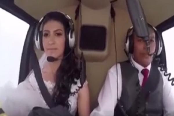 Απίστευτο βίντεο: Οι τελευταίες στιγμές μια νύφης που δεν κατάφερε ποτέ να φτάσει στον γάμο της!