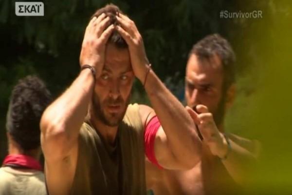 Survivor - Ο Αγγελόπουλος έβαλε φωτιά στην καλύβα των Διασήμων: «Tώρα μου βγήκαν όλα αυτά που είχα μέσα μου…» (Video)