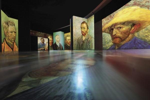 """Η μεγάλη έκθεση """"Van Gogh Alive"""" έρχεται στην Αθήνα! (photos+video)"""
