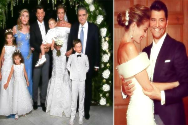 Ρουβάς - Ζυγούλη: Παραμυθένιο άλμπουμ από τον γάμο τους! Αδημοσίευτες φωτογραφικές πριν, κατά την διάρκεια αλλά και μετά το μυστήριο! (photos)