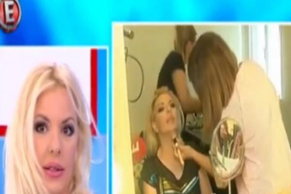 Δείτε για πρώτη φορά το καμαρίνι της Αννίτας Πάνια! Δεν φαντάζεστε τι έχει μαζί της! (video)