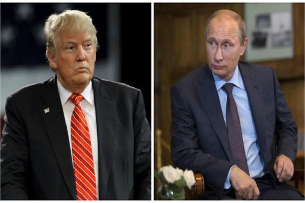 Είναι γεγονός! - Η πρώτη ιστορική χειραψία Τραμπ ‑ Πούτιν (Video)