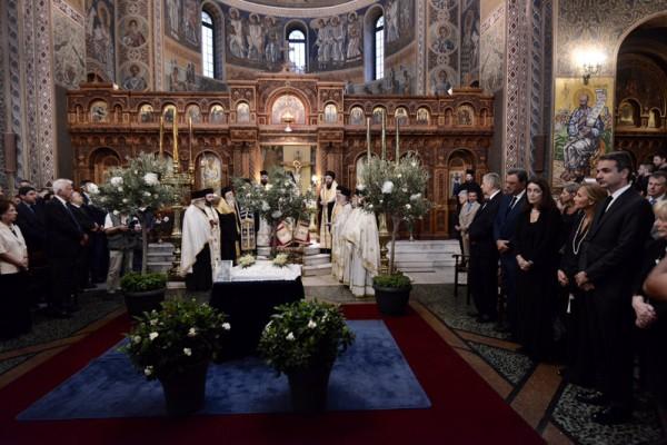Τελέστηκε το 40ημερο Μνημόσυνο του Κωνσταντίνου Μητσοτάκη! Ποιοι έδωσαν το παρών; (photos)
