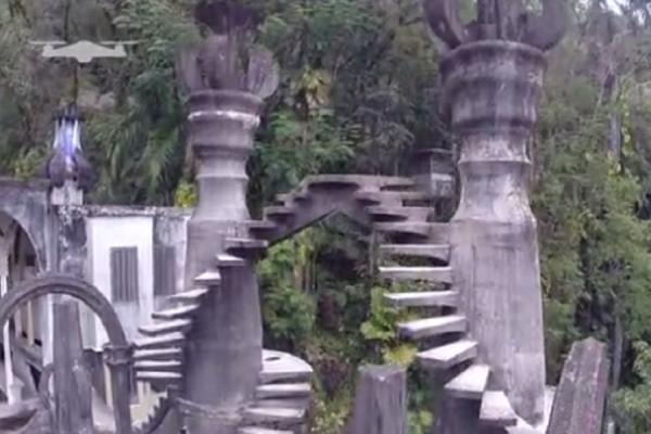Ένα κήπος μόνο γλυπτά στη Ζούγκλα του Μεξικό! (video)