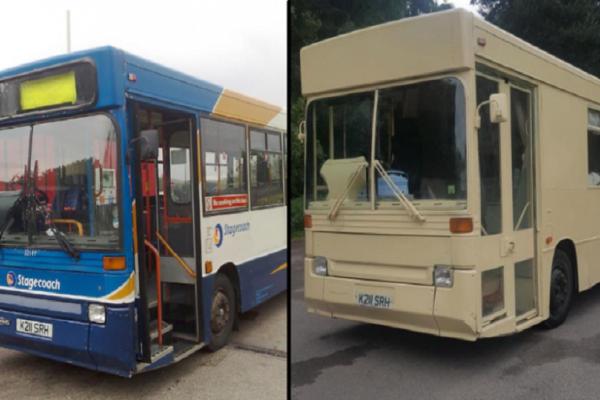 Εντυπωσιακό: Μετέτρεψαν ένα λεωφορείο αξίας 1.300 ευρώ σε ένα υπέροχο σπίτι! (Photo)