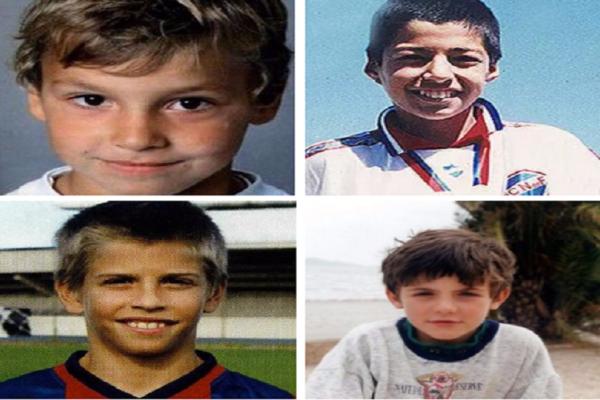 Πως ήταν πασίγνωστοι stars του ποδοσφαίρου όταν ήταν παιδιά; Κάποιοι δεν άλλαξαν καθόλου (Photos)