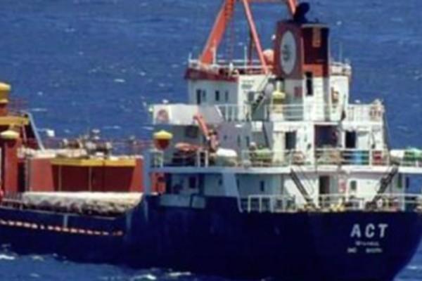 Έκτακτο- Σκάφος της ελληνικής ακτοφυλακής άνοιξε πυρ εναντίον τουρκικού φορτηγού πλοίου (photo)
